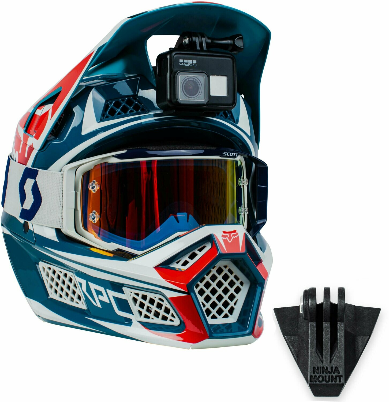 FOX Rampage MVRS-NINJA MOUNT – the Action Cam Mount for Fullface Helmets