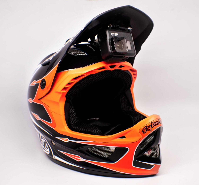 Universal Screw Mount-NINJA MOUNT – the Action Cam Mount for Fullface Helmets