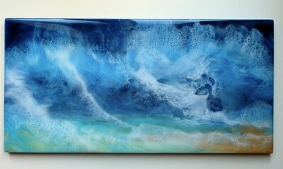 Perfect Storm (original) 30.5 x 61 cm