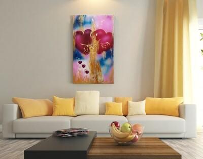 Family of Love 40 x 71 cm