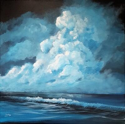 Mindful Serenity 51 x 51 cm
