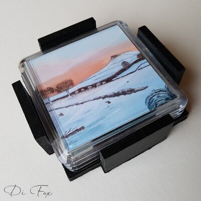 Roseberry Topping drinks coasters