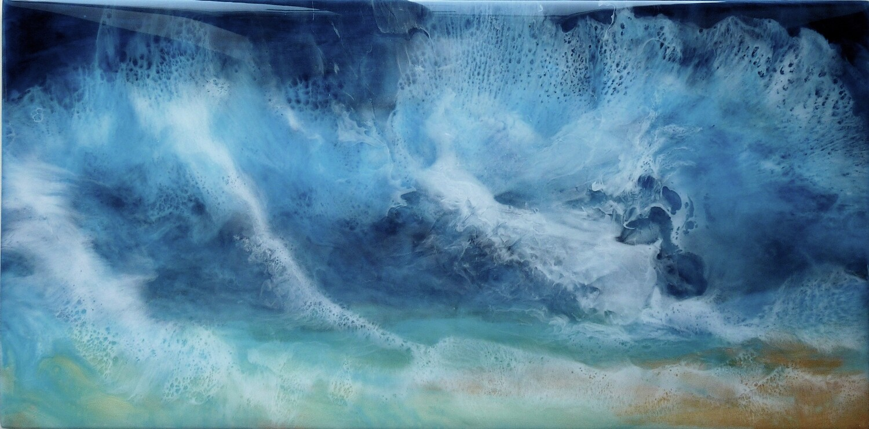 Perfect Storm (original) 30.5 x 61 cm