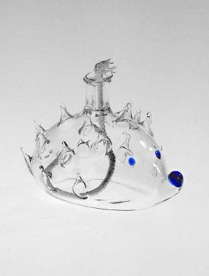 Hedgehog Oil Lamp