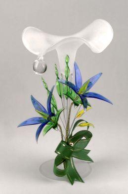 Teardrop Floral Candlestick