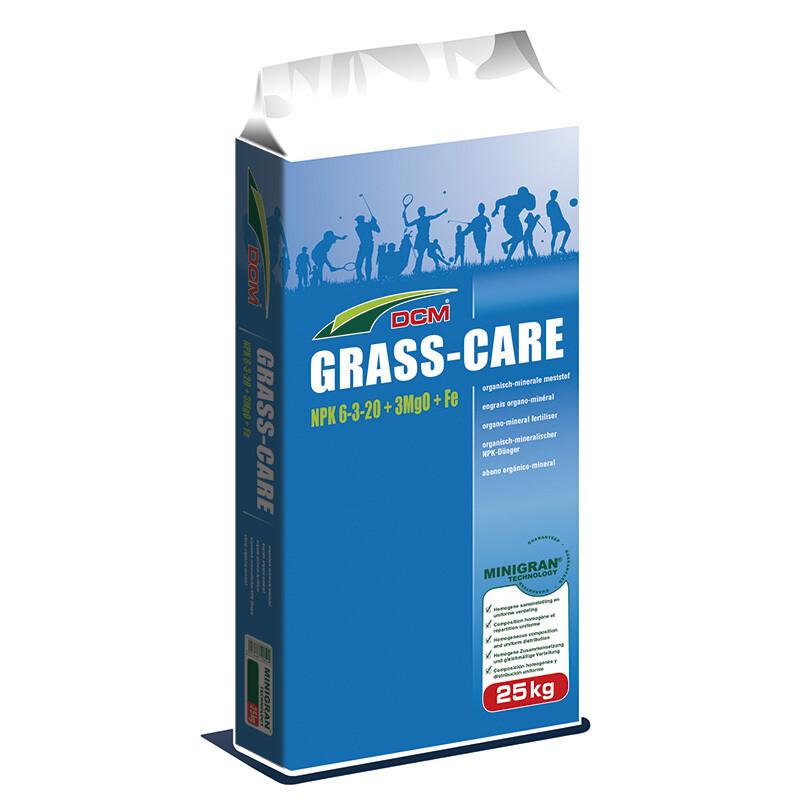 DCM Grass Care NPK 6-3-20 + 3 MgO + Fe ( Осiнь )