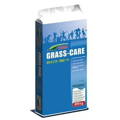 DCM Grass Care NPK 6-3-20 + 3 MgO + Fe ( Осiнь )