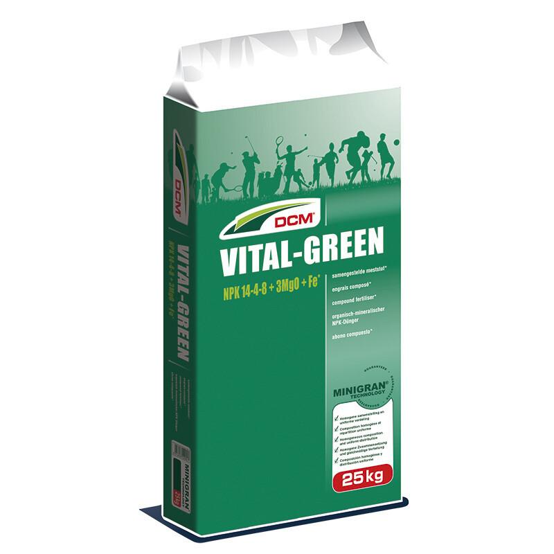 DCM Vital Green NPK 14-4-8 + 3 MgO + Fe ( Лiто )