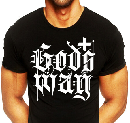 Black GODS+WAY Shirt