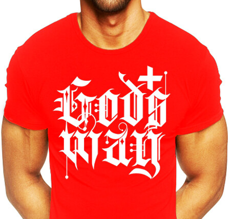 Red GODS+WAY Shirt