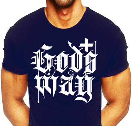 Navy Blue GODS+WAY Shirt