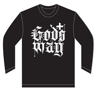 Black GODS+WAY Long Sleeve Shirt