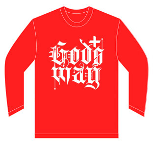 Red GODS+WAY Long Sleeve Shirt