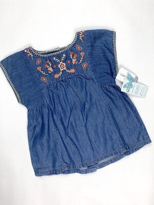 Jean Carter's Embroidered Flower Shirt, 4T
