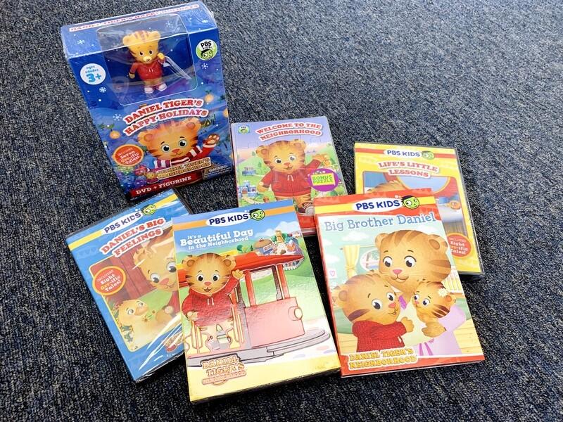 New PBS Daniel The Tiger 6 DVD Set