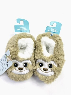 Sloth Baby Snoozies! Bootie Slippers, 0-3M
