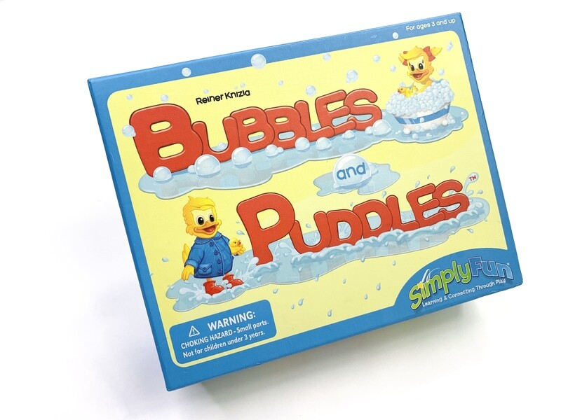 Bubbles & Puddles Water Game