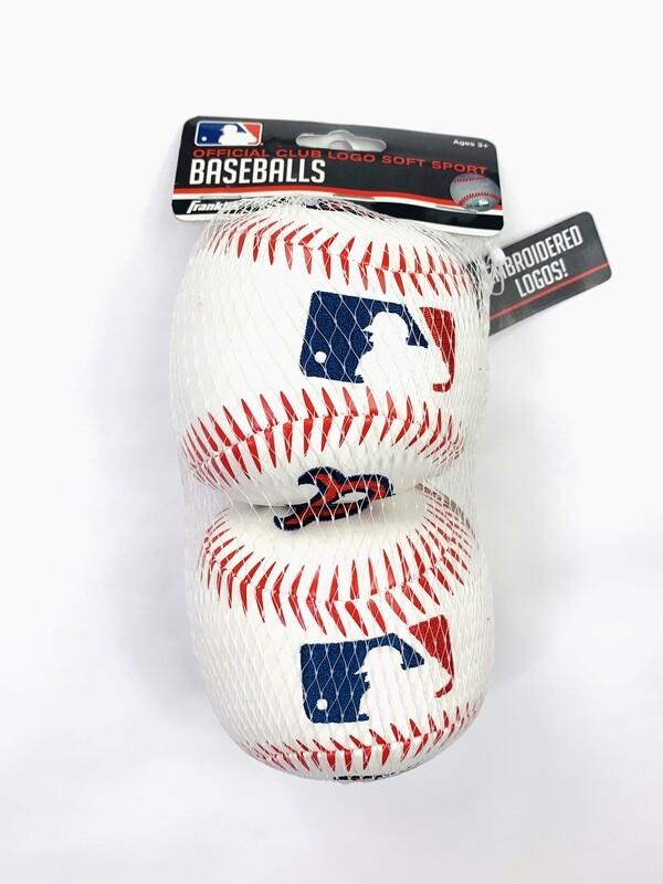 Red Sox 2Pk Soft Sports Franklin Balls