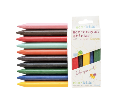 Eco-Crayon Sticks 10Pk