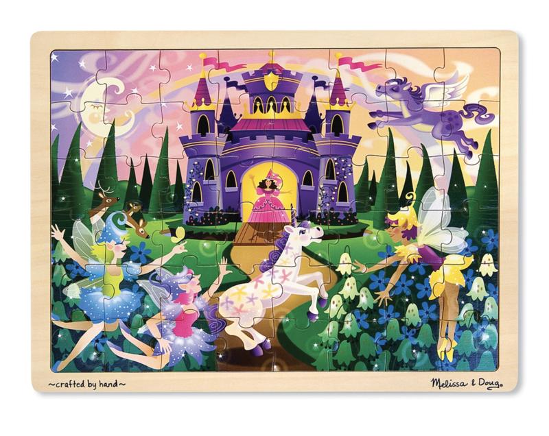 Fairy Fantasy Jigsaw 48pc Puzzle Melissa & Doug