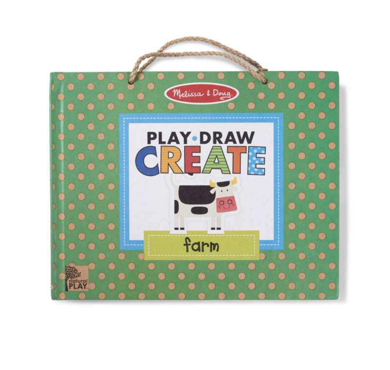 Farm Fun Play, Draw, Create Melissa & Doug