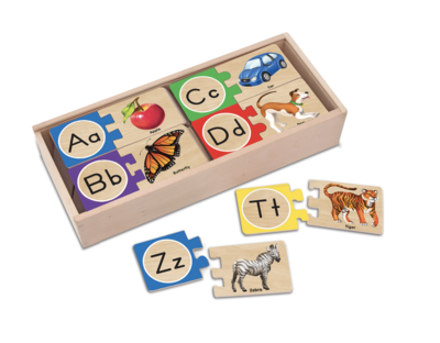 Self-Correcting Letter Numbers Puzzle Melissa & Doug