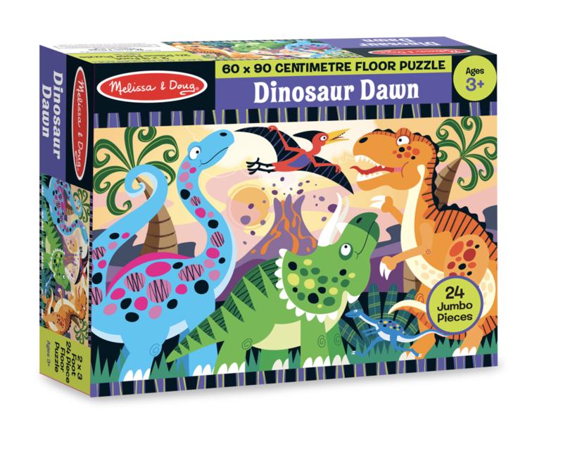 Dinosaur Dawn Floor 24 pc Melissa & Doug Puzzle
