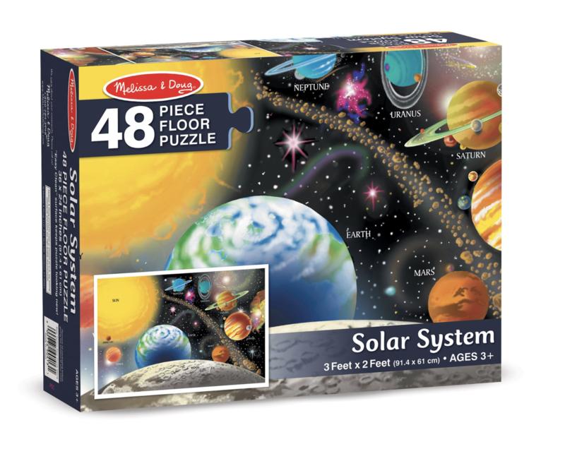 Solar System Melissa & Doug 48Pc Floor Puzzle