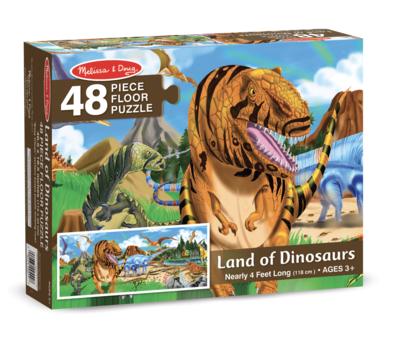 Land Of Dinosaurs Melissa & Doug 48Pc Floor Puzzle