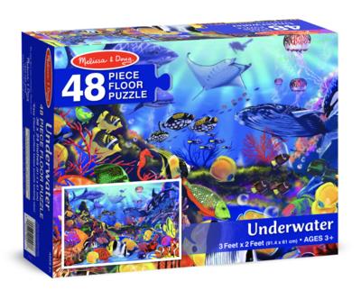 Underwater Melissa & Doug 48Pc Floor Puzzle
