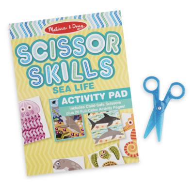 Sea Life Melissa & Doug Scissor Skills