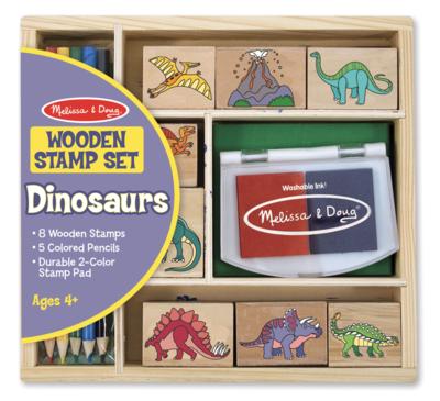 Dinosaur Melissa & Doug Stamp Set