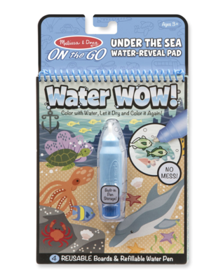 Under The Sea Water Water Wow!  Melissa & Doug Reveal Pad