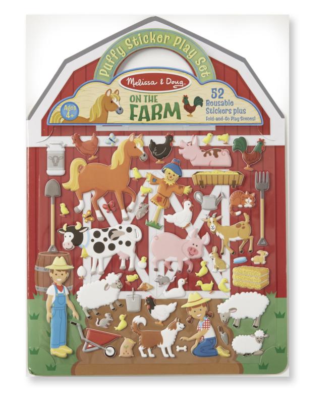 Farm Puffy Sticker Melissa & Doug