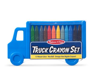 Truck Crayon Melissa & Doug Set
