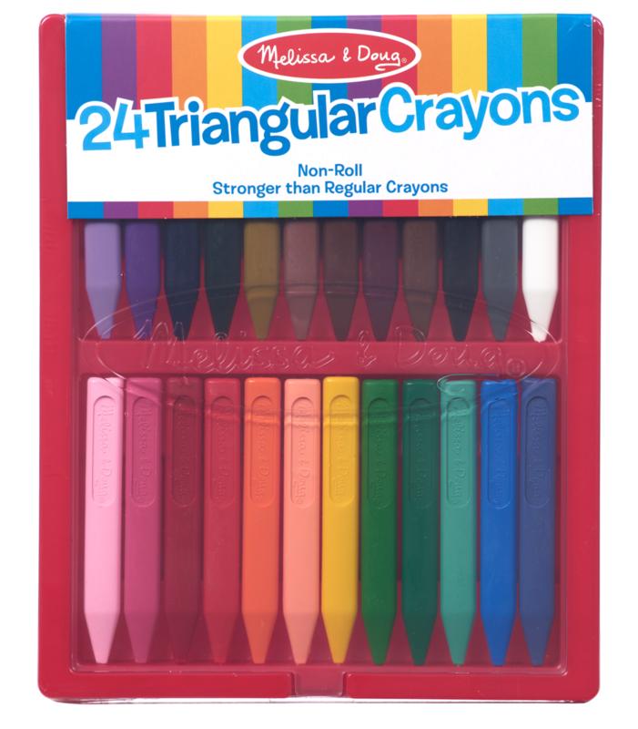 Triangle Crayon 24Pc Melissa & Doug Set