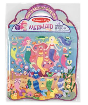 Mermaid Puffy Sticker Play Set  Melissa & Doug