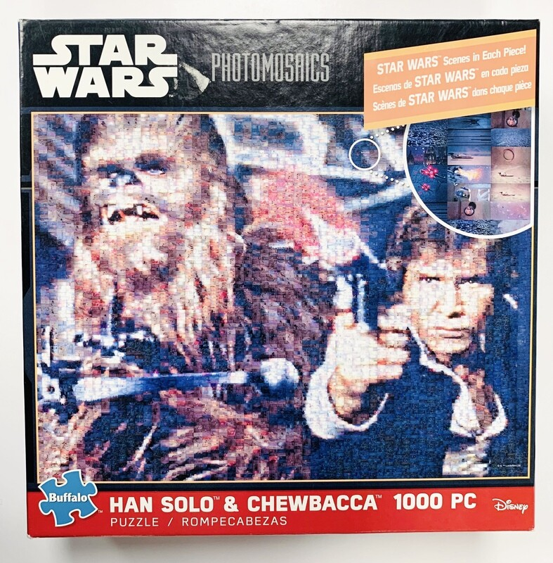 New Han Solo & Chewbacca Star Wars Buffalo 1000pc Puzzle