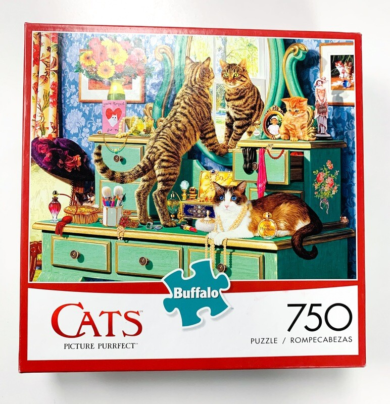 New Cats Picture Perfect 750 Piece Puzzle