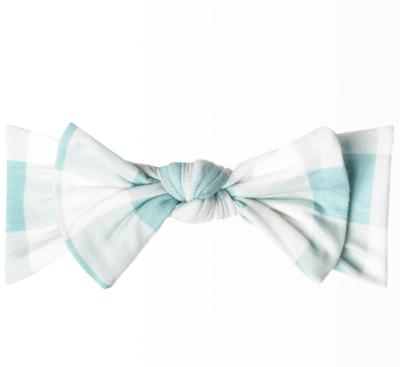 Lincoln Headband Bow Copper Pearl