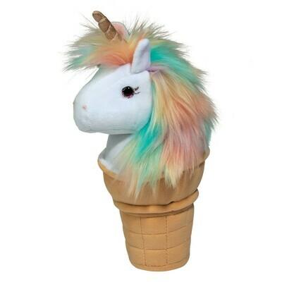 Douglas Toys Ice Cream Unicorn Macaroon Stuffed Animal
