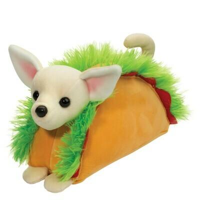 Douglas Toys Taco Chihuahua Macaroon Stuffed Animal