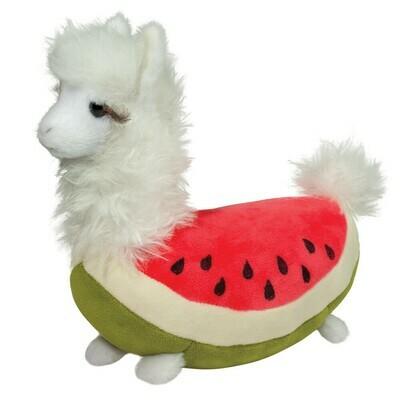 Douglas Toys Watermelon Llama Macaroon Stuffed Animal