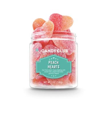 Candy Club Peach Hearts