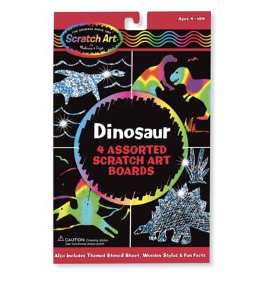 Scratch Art Dinosaur Pack Melissa & Doug