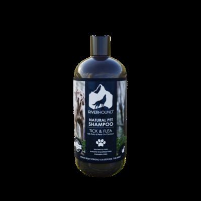 Natural Tick & Flea Shampoo - 500ml