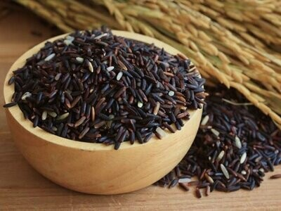 "Aum's ""Phetratri"" Organic Black Rice"