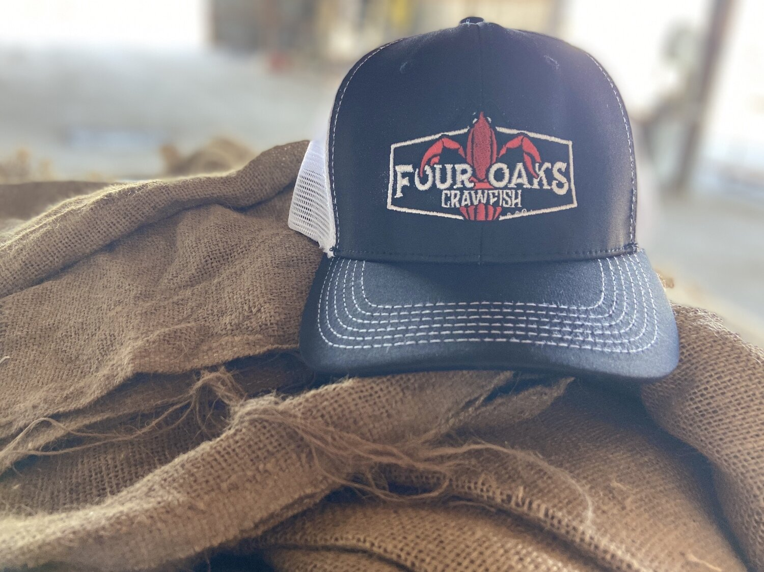 Four Oaks Farm Crawfish Trucker Hat