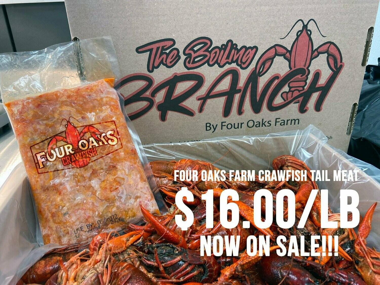 Four Oaks Farm Frozen Crawfish Tail Meat