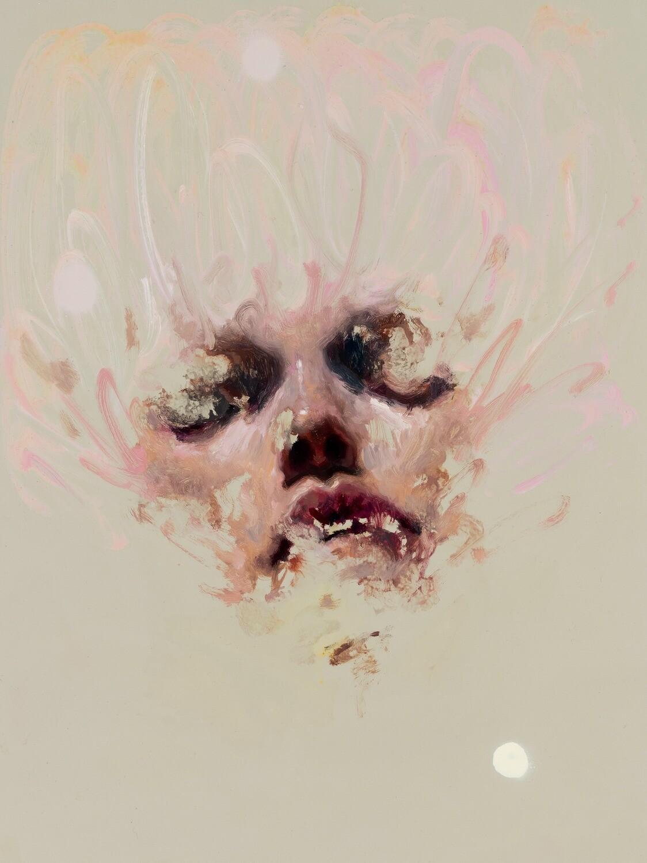 BLUEBERRIES / Open Art Print